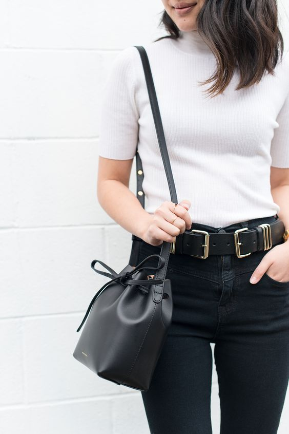 Mini bags gam đen trẻ trung